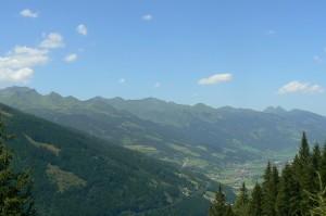 Bad Gastein libegőről